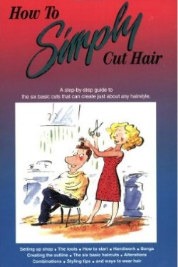 Books about haircutting, books for home haircutters and