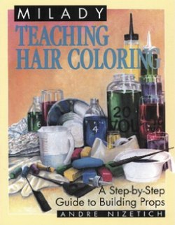 Books about hair coloring and bleaching