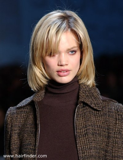 Long layered bob for an easy low-maintenance professional hairstyle