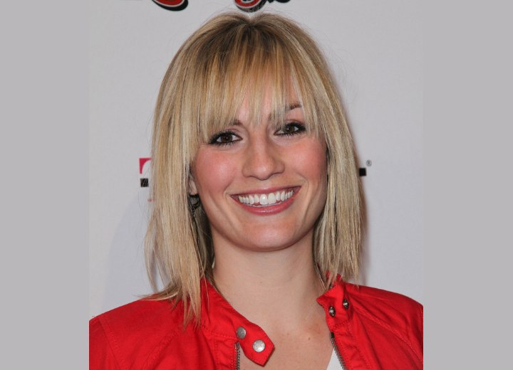 Alison Haislip Easy Bone Straight Medium Hair With