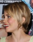 Alison Lohman with short hair