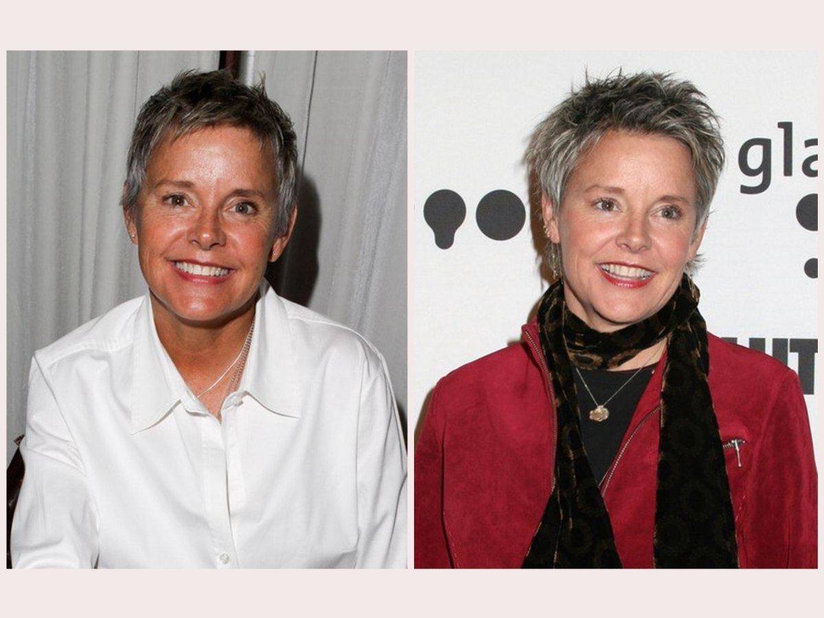 Amanda Bearse Pictures amanda bearse hairstyles   easy to style every day pixie