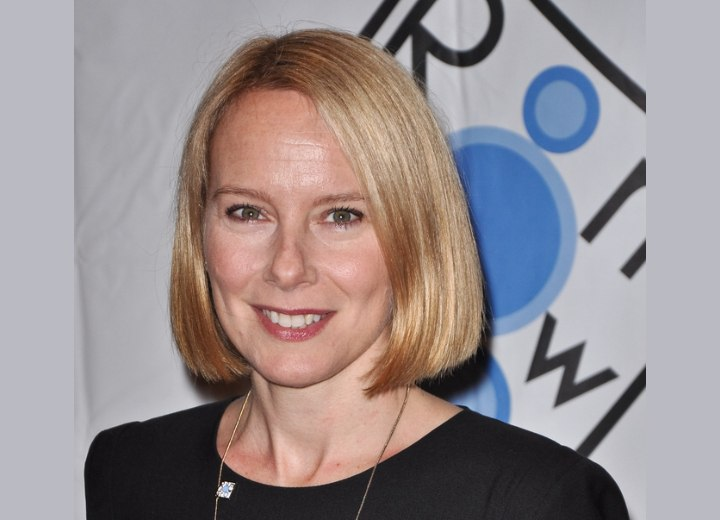 Amy Ryan With A Bob Haircut And The Difference Between A Dutch Boy