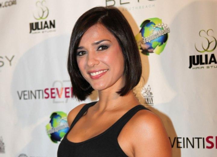 Ana Carolina Da Fonseca Slightly Angled Under The Chin