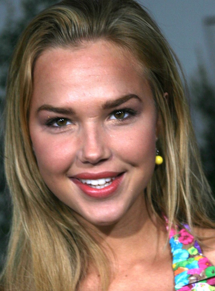 Arielle Kebbel Long Straightly Smooth Below The