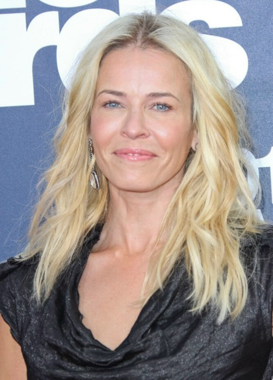 Chelsea Handler S Long Blonde Hair The Right Hair Color