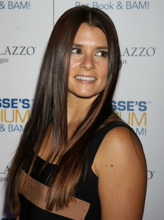 Danica Patrick Mid Back Long Hair Sectioned In The Middle