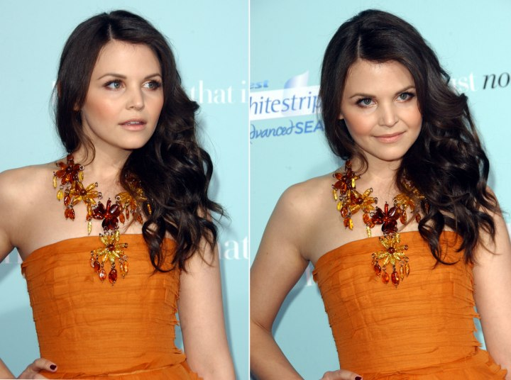 ginnifer goodwin haircut. Ginnifer Goodwin with long