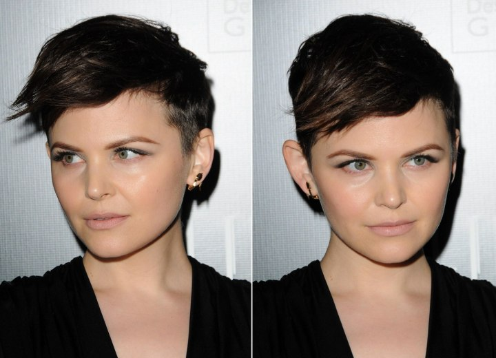 ginnifer goodwin hairstyles. Ginnifer Goodwin with short