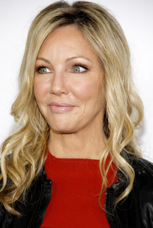 Pleasant Heather Locklear39S Long Layered Hairstyle Haircut For A 50 Woman Short Hairstyles Gunalazisus