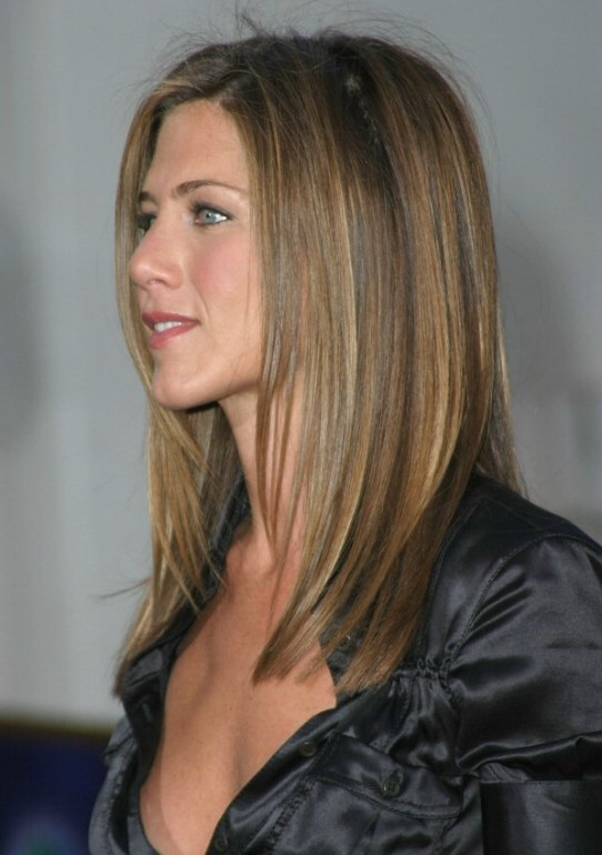 Side View Of Jennifer Aniston S Hair