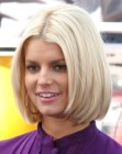Jessica Simpson with a bob