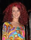 Joss stone with red curly hair