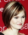 Julia Stiles with short hair