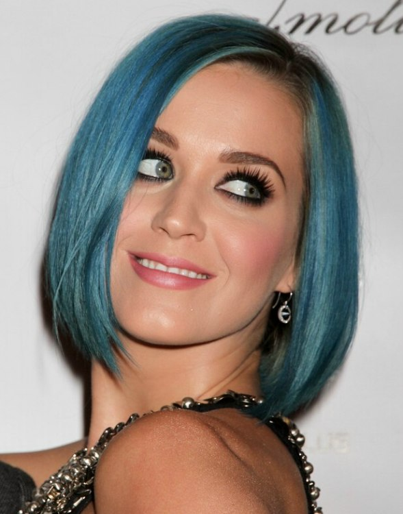 how to get light blue hair