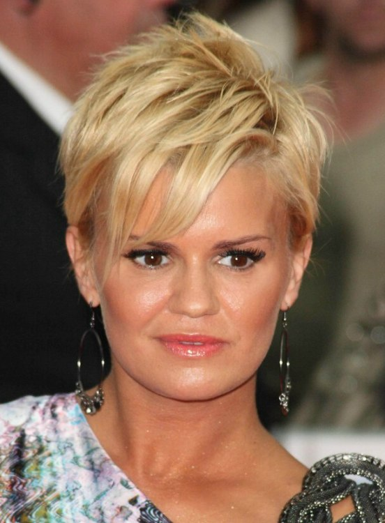 Short Hairstyles 2017 2018: Kerry Katona With Very Short Hair