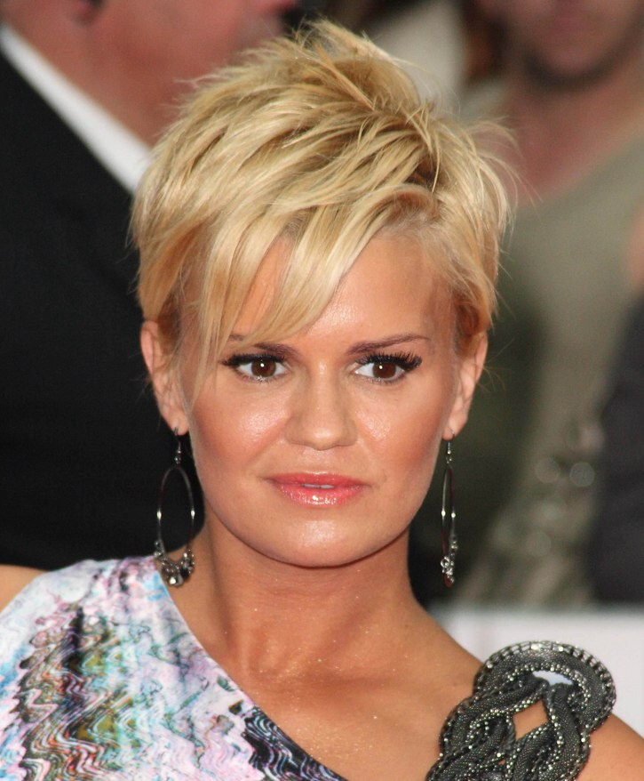 Kerry Katona With Very Short Hair