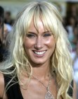 Kimberly Stewart with very long hair