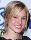 Kristen Bell with a short haircut