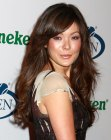 Lindsay Price with long hair