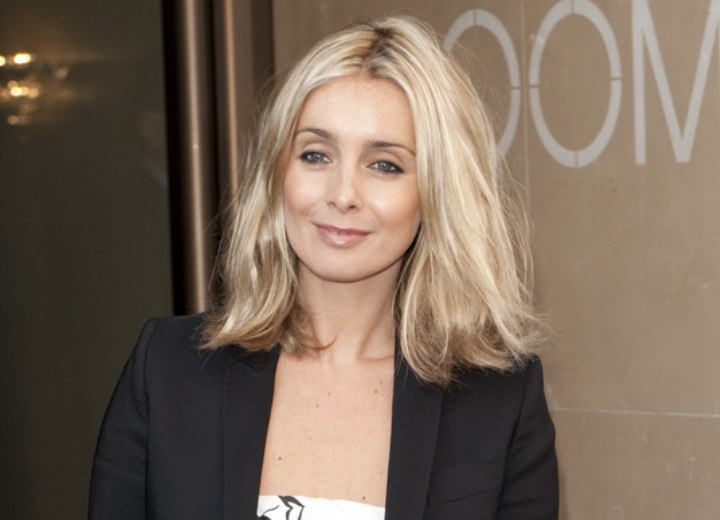 Louise Redknapp S Hair In A Lengthy Bob Haircut To Look