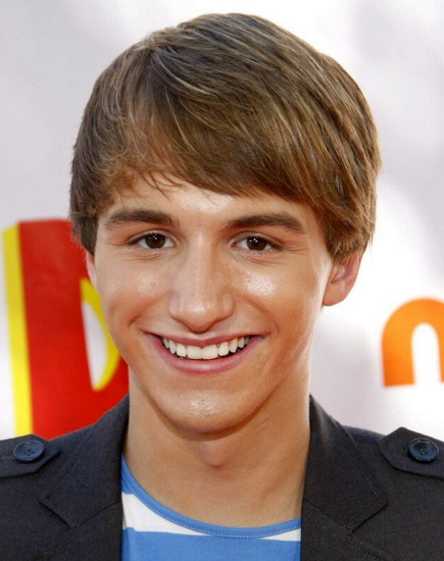 Lucas Cruikshank S Haircut With Most Of The Hair Styled
