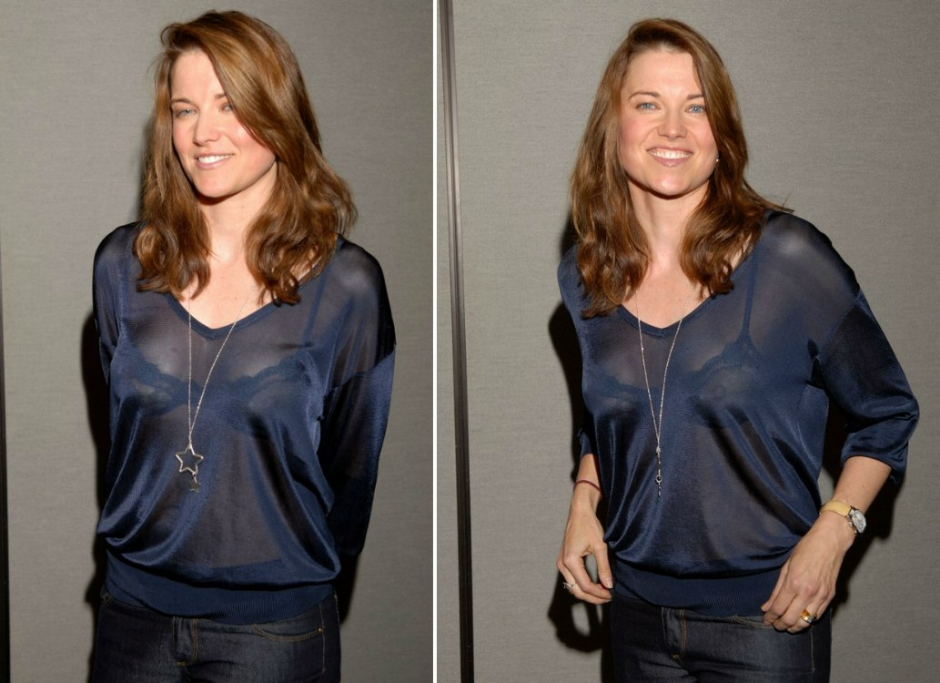 Lucy lawless see through photos