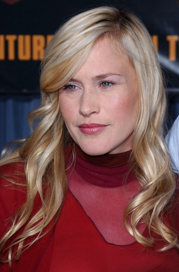 Patricia Arquette S Long Hair With Mermaid Curls And How