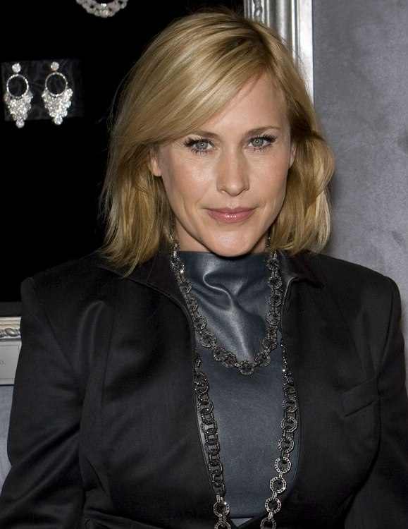 Patricia Arquette S Shoulder Length Bob With Tapered