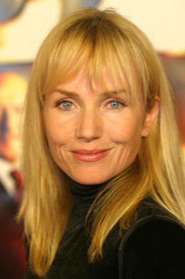 Turtlenecked Rebecca De Mornay With Long Sunny Blonde Hair