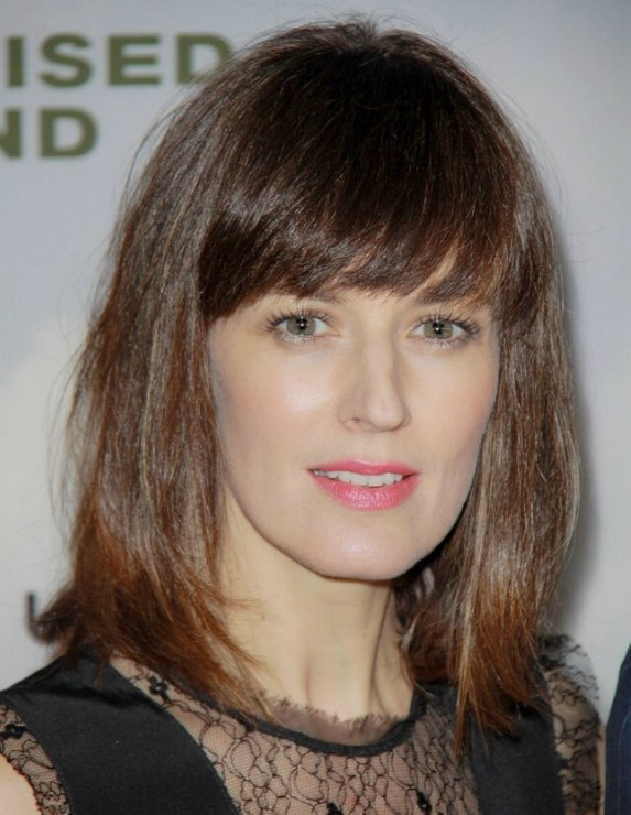 Rosemarie Dewitt Wearing Her Hair In A Neatly Tapered