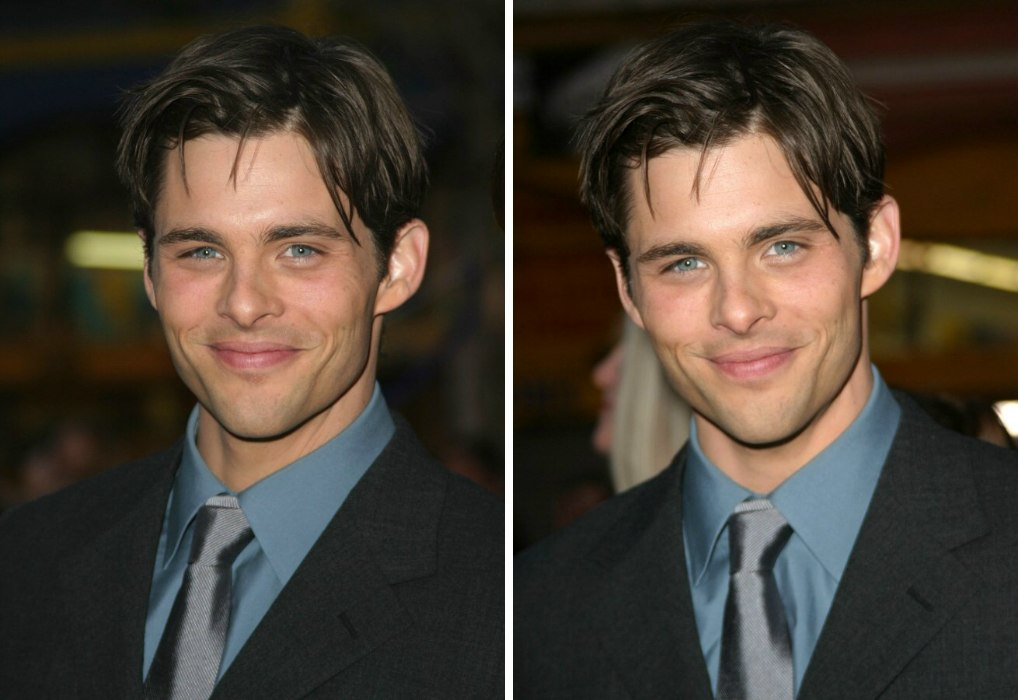 James Marsden Sporting An Ivy League Variant Clean Haircut