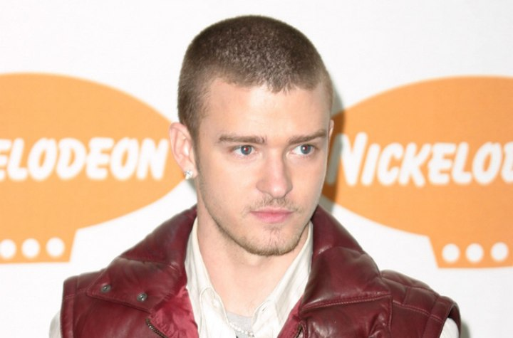 Photos Justin Timberlake on Justin Timberlake Sporting A Clipper Cut Buzz Hairstyle