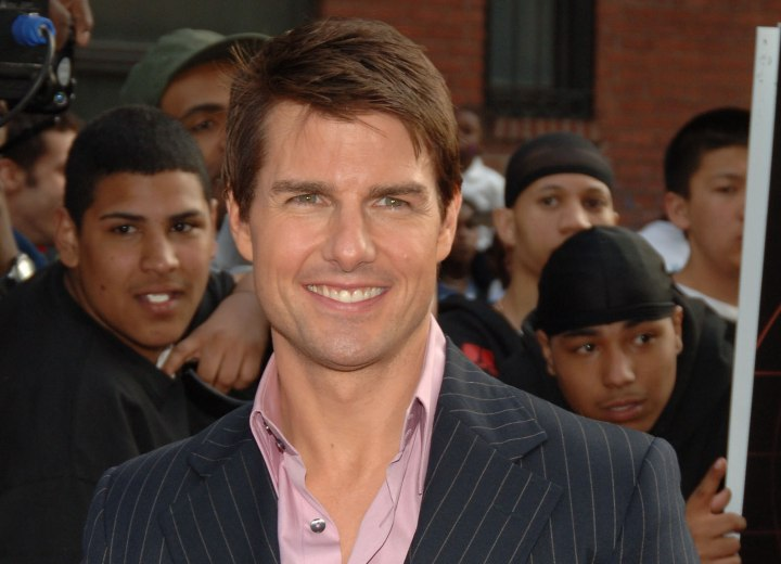 tom cruise long hairstyle. Tom Cruise