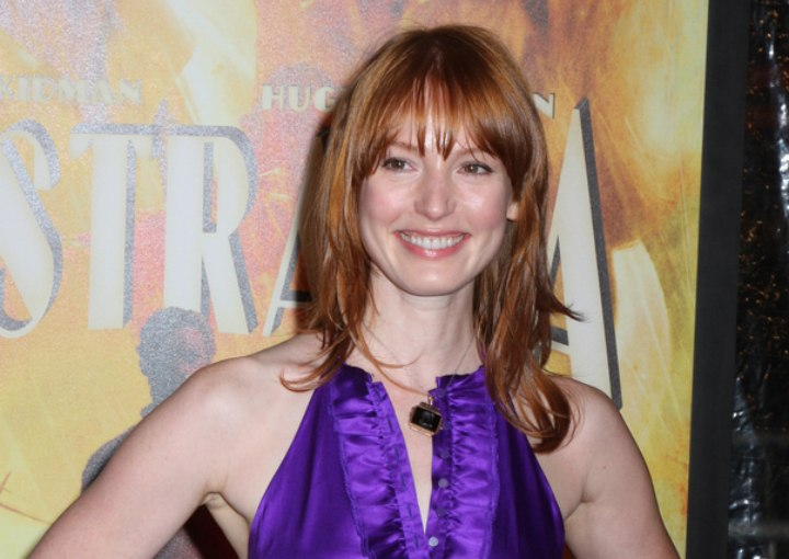 Alicia Witt red hair