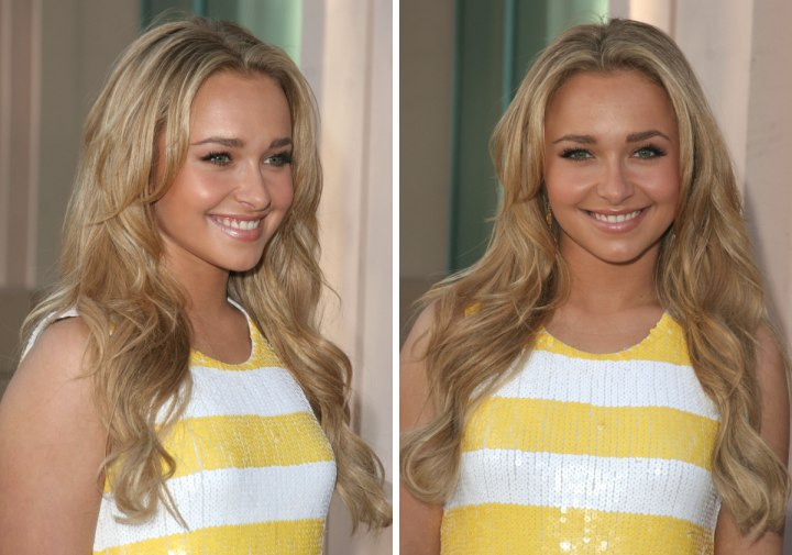 Hayden Panettiere Liv Tyler Southern Bell Hairstyle