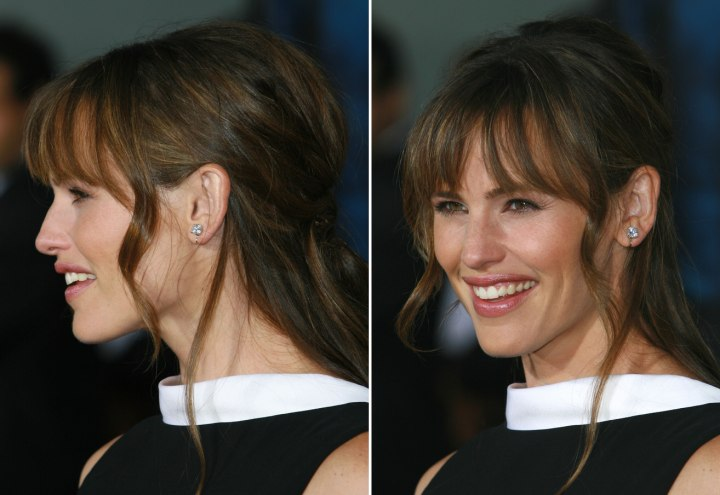 jennifer garner short hair