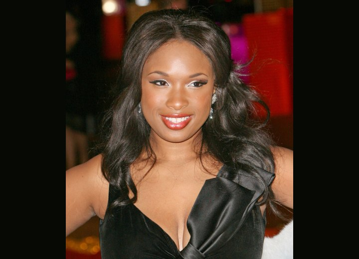 Jennifer Hudson - Black hairstyle with curls