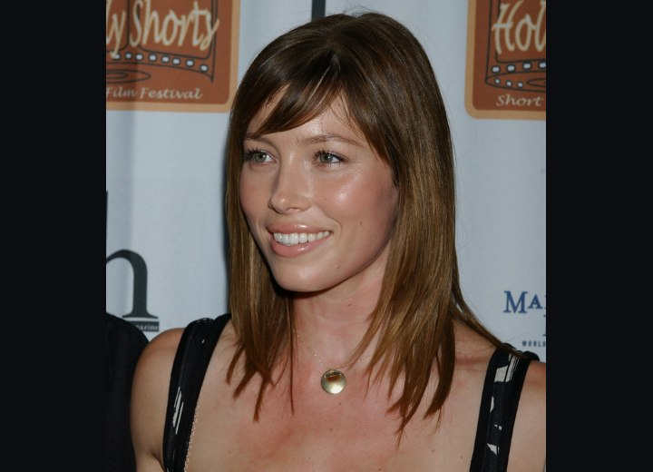 jessica biel hair updo. photo of Jessica Biel