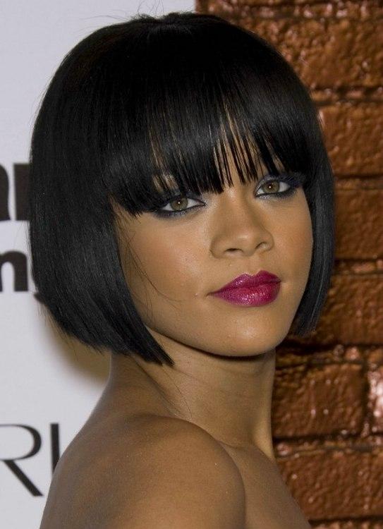 Rihanna | Anna Kournikova | short bob hairstyle