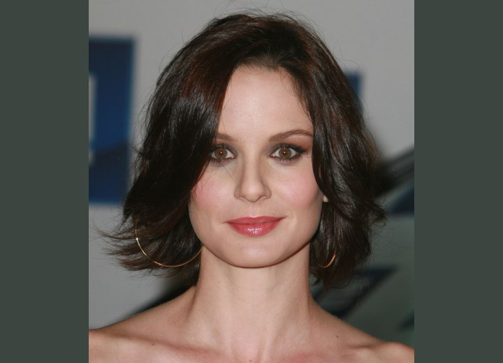Sarah Wayne Callies - Medium length haircut with layers