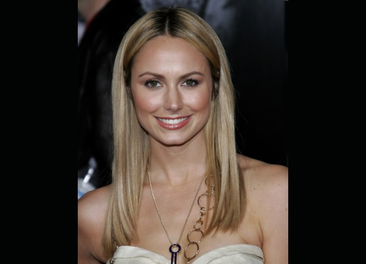 Stacy Keibler - Long straight hair