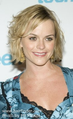 Taryn Manning with short hair