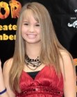 Debby Ryan with long straight hair