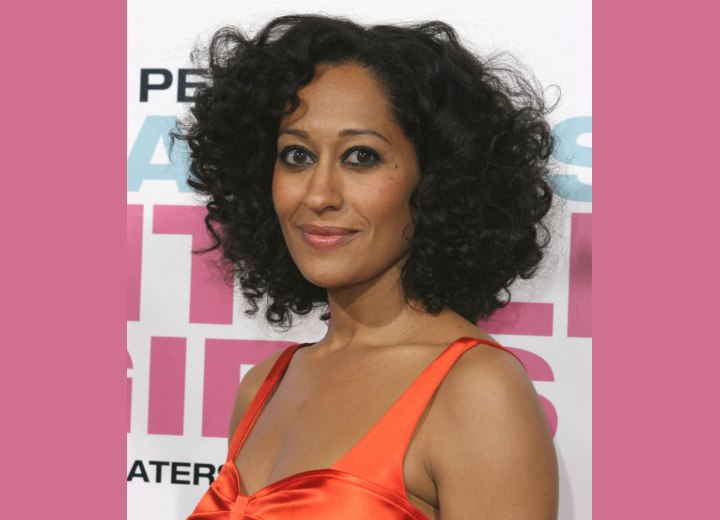 Tracee Ellis Ross - Carefree haircut for African hair