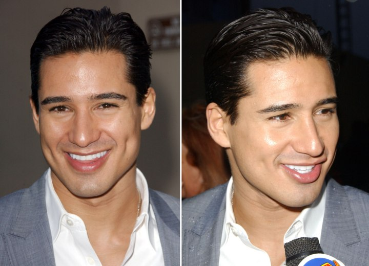 Mario Lopez and Girlfriend