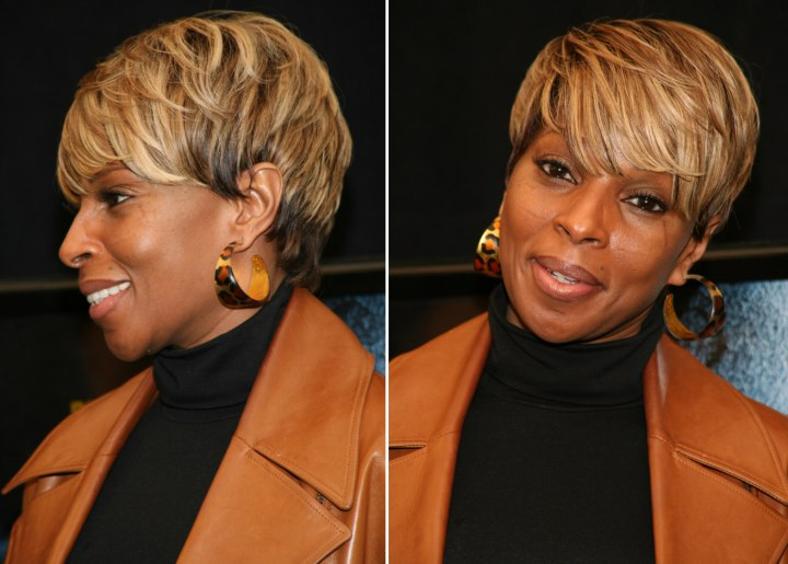 j blige hair styles j blige s haircut that makes you look thinner 8219