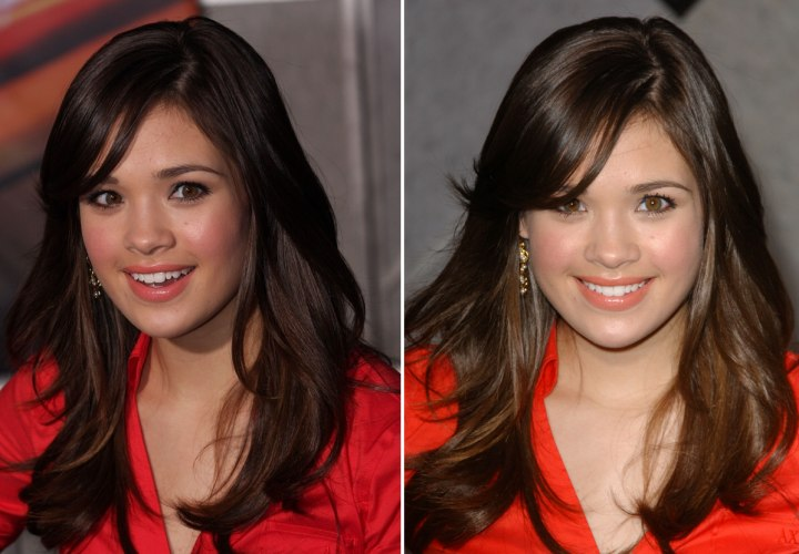 High School Girl Look And Make Up For Nicole Gale Anderson