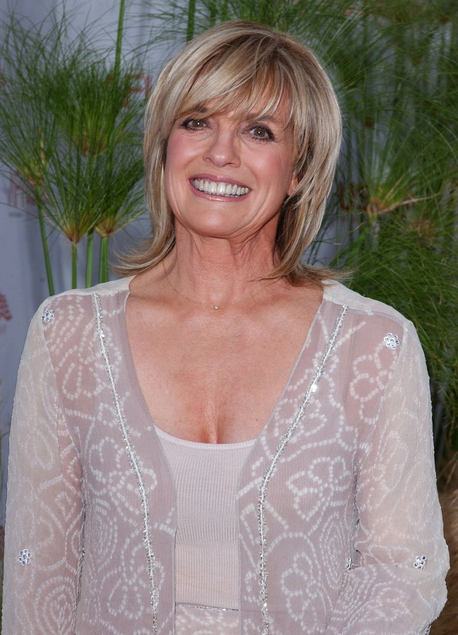 Linda Gray - Hairstyle for 60 plus women