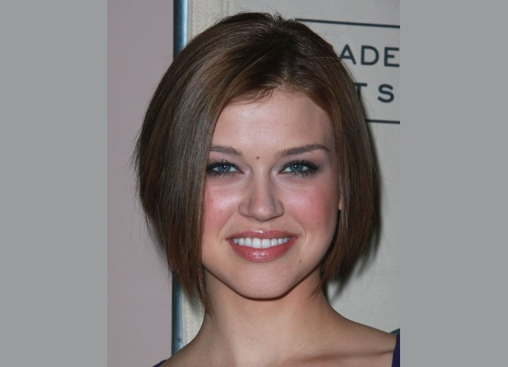 Adrianne Palicky - Chin length bob that frames the face